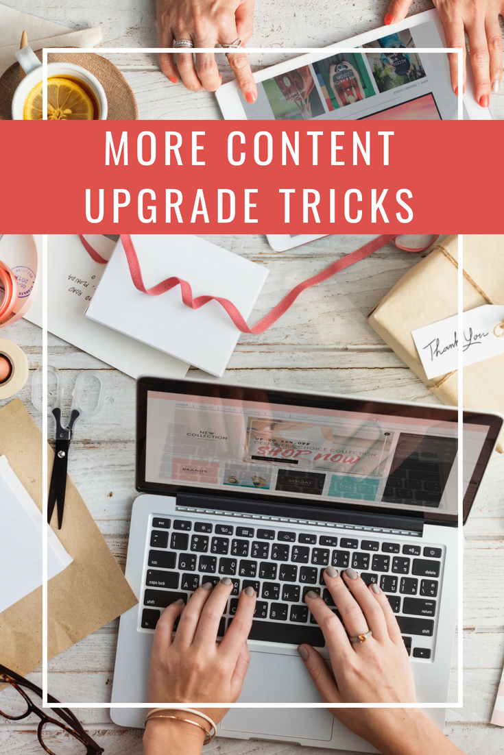 How to leverage this Thrive Leads trick to make your blog content upgrades even more profitable.